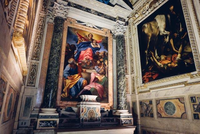 Free Caravaggio in Rome
