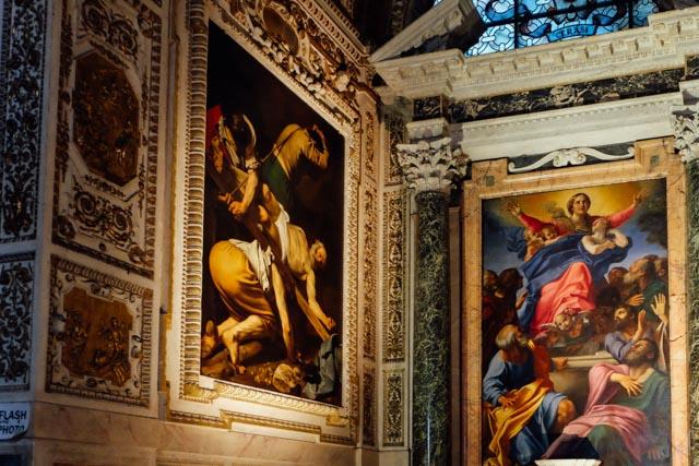 Carvaggio in Rome