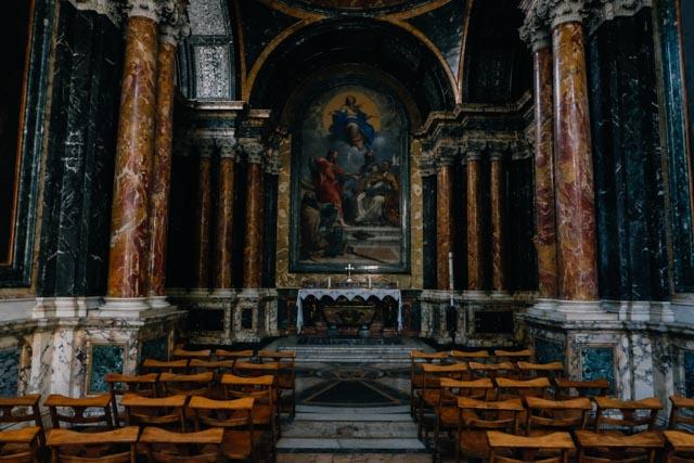 Inside Santa Maria del Popolo