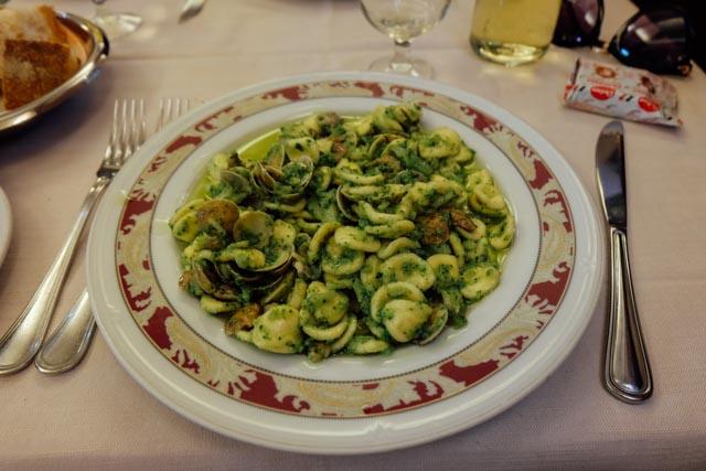 broccoli e vongole