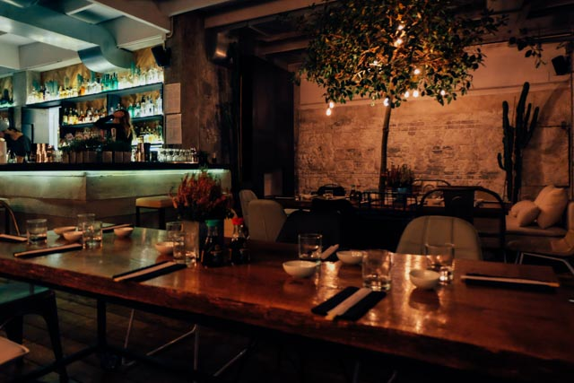 Bar in Trastevere Rome