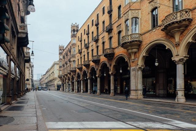 Torino walkways