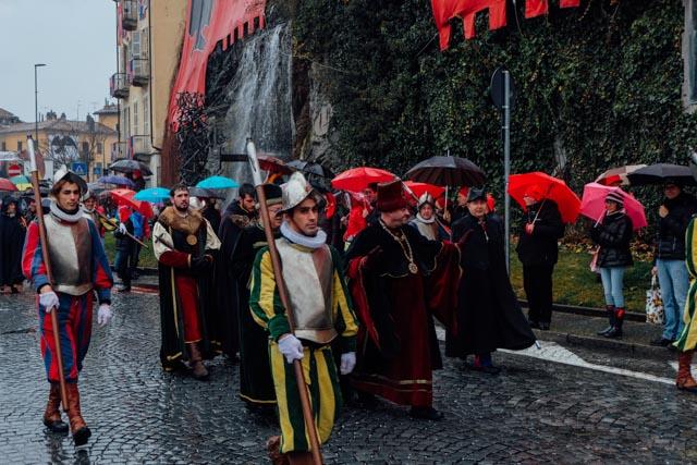 ivrea parade