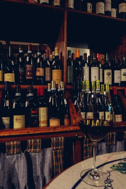 wine bar in monti