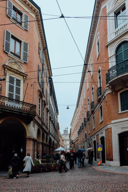 Modena in northern Italy