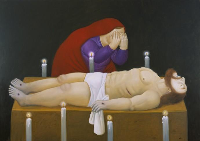 Botero-Cristo-è-morto
