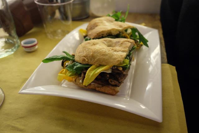 sandwich pianostrada trastevere