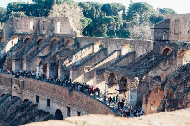 Colosseum levels