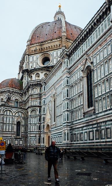 Duomo in the rain