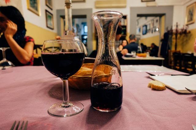 wine in Florence