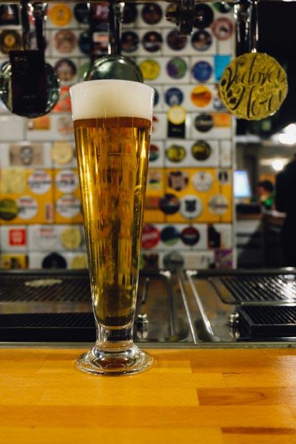 Beer at hop side rome