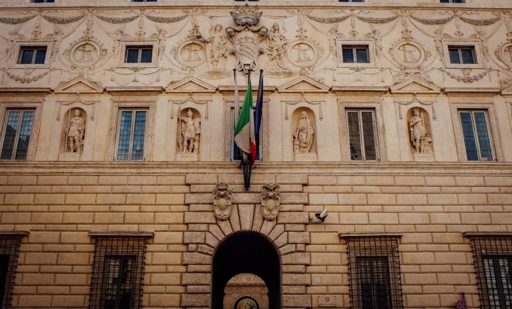 Galleria Spada facade