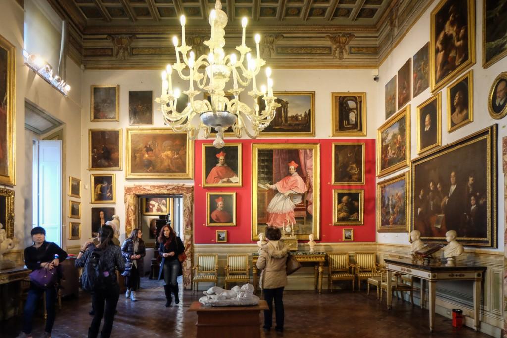 Galleria Spada art in Rome