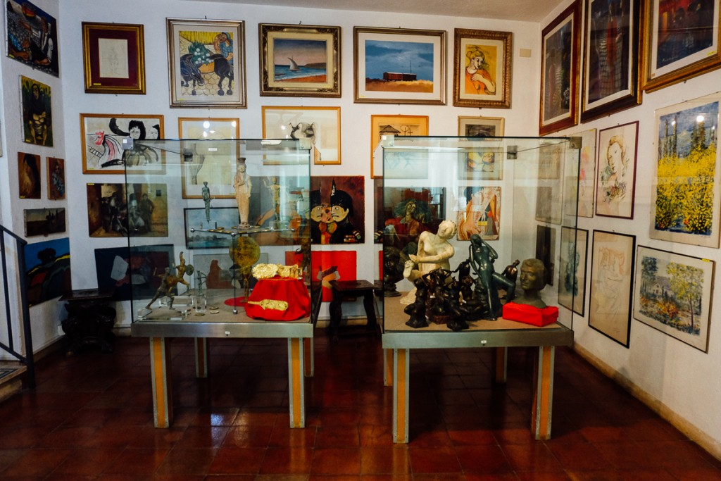 Rome crime museum forgeries