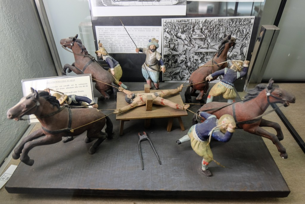 Rome torture museum