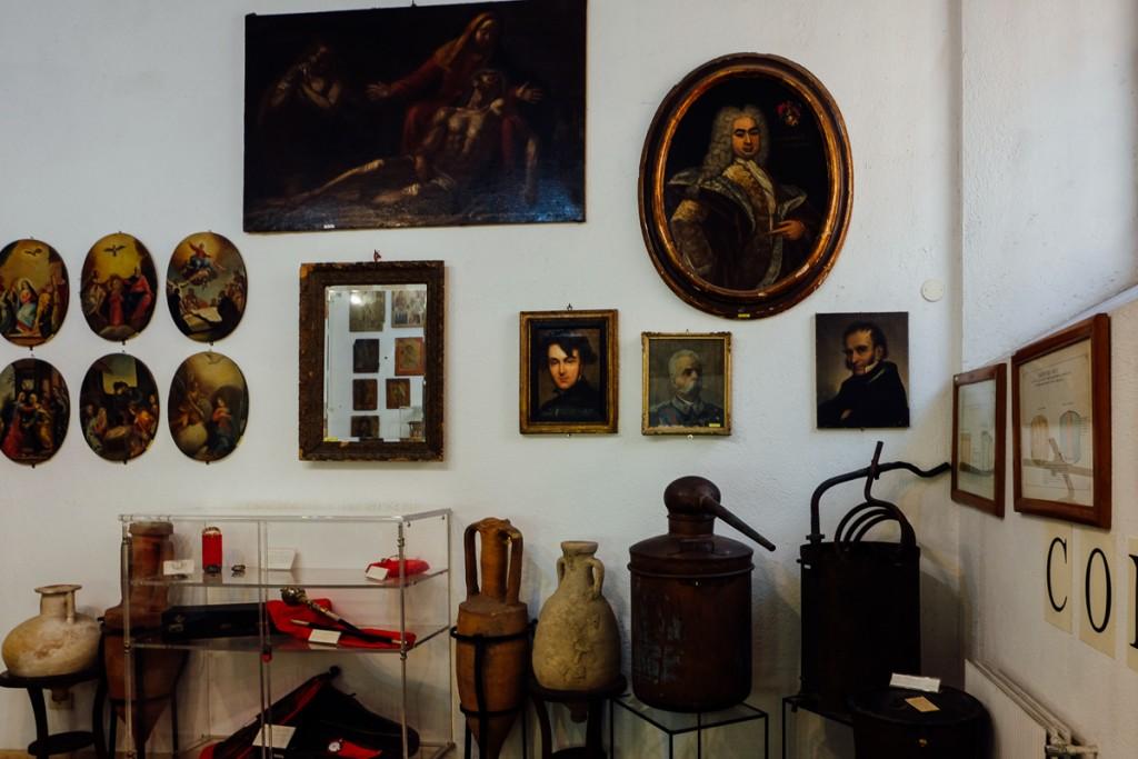 Rome Crime Museum stolen goods