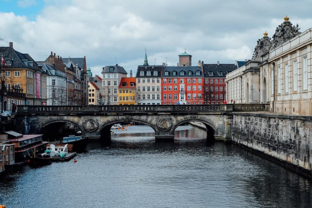 Copenhagen canals and buildings