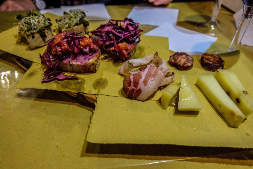 Rome Food Tour samples