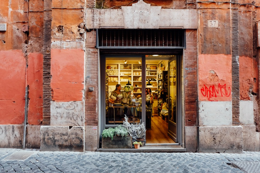 Where to Shop for Home Goods, Furniture and Kitchen Accessories in Rome