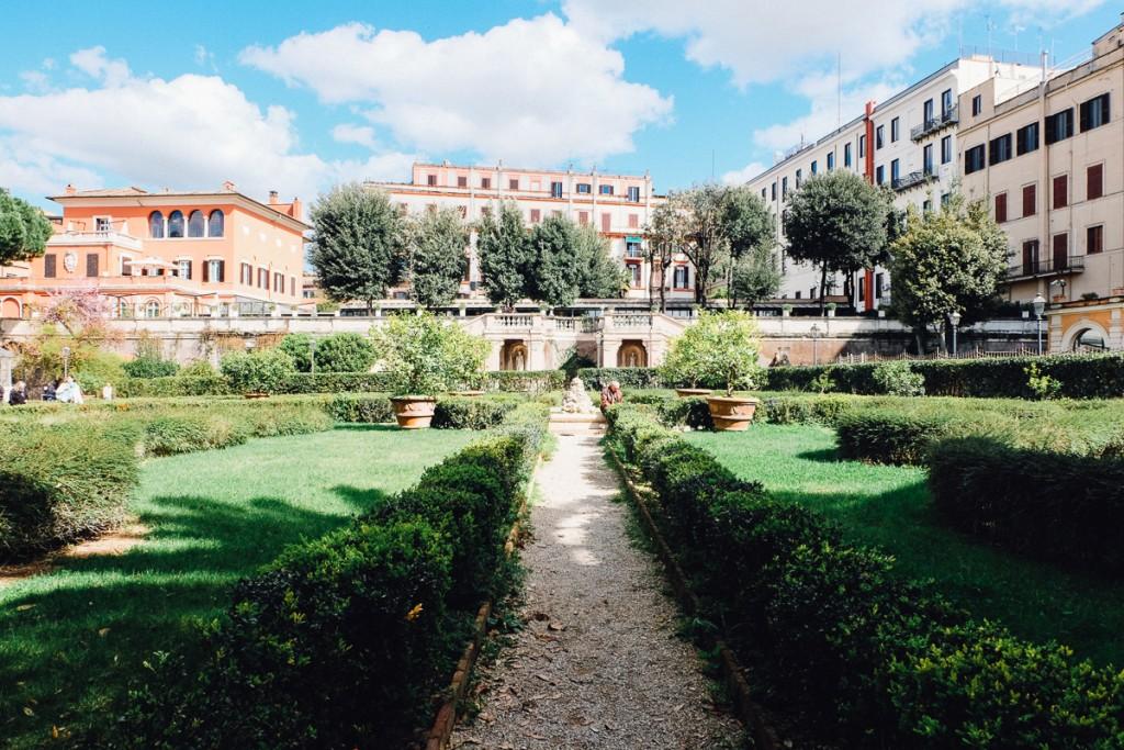 palazzo barberini gardens