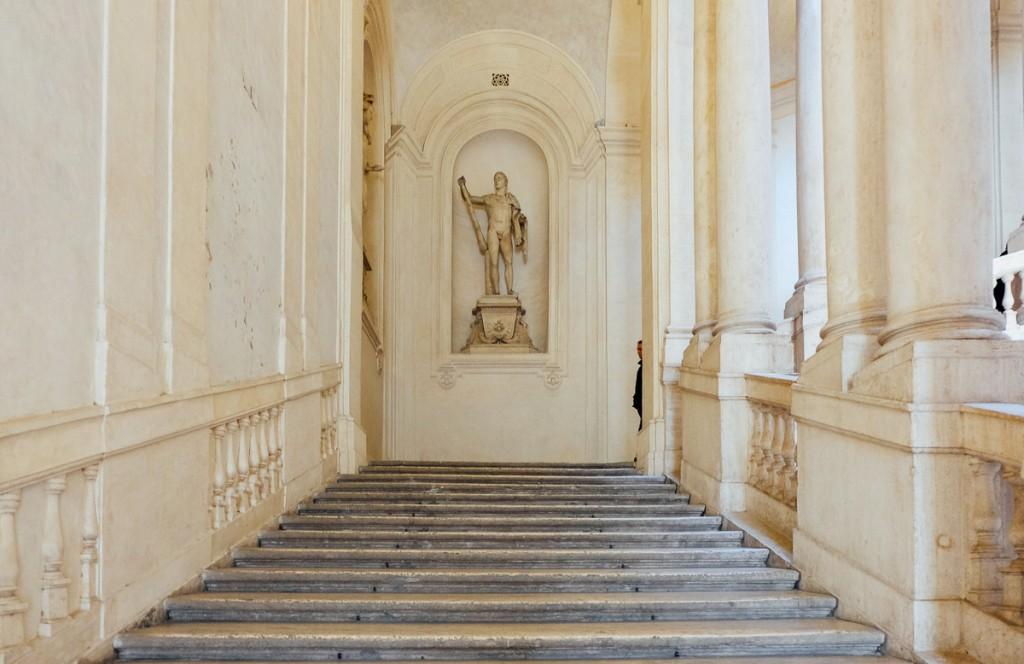 palazzo barberini stairs