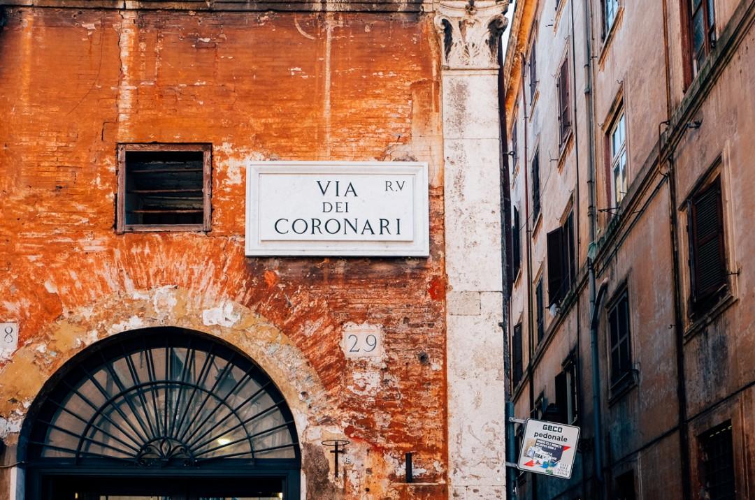 via dei coronari rome