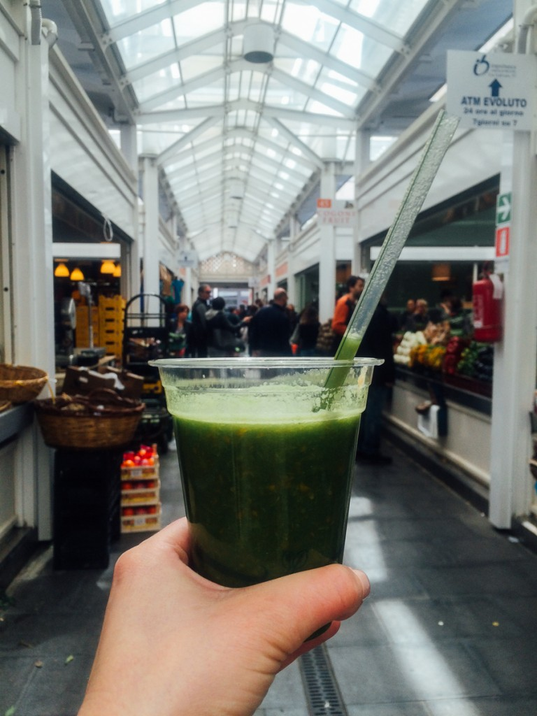 kale smoothie in Rome