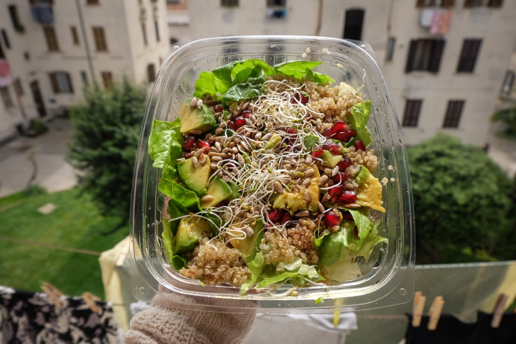 Healthy eating in Rome from Zoe
