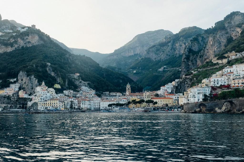 Amalfi Italy by boat