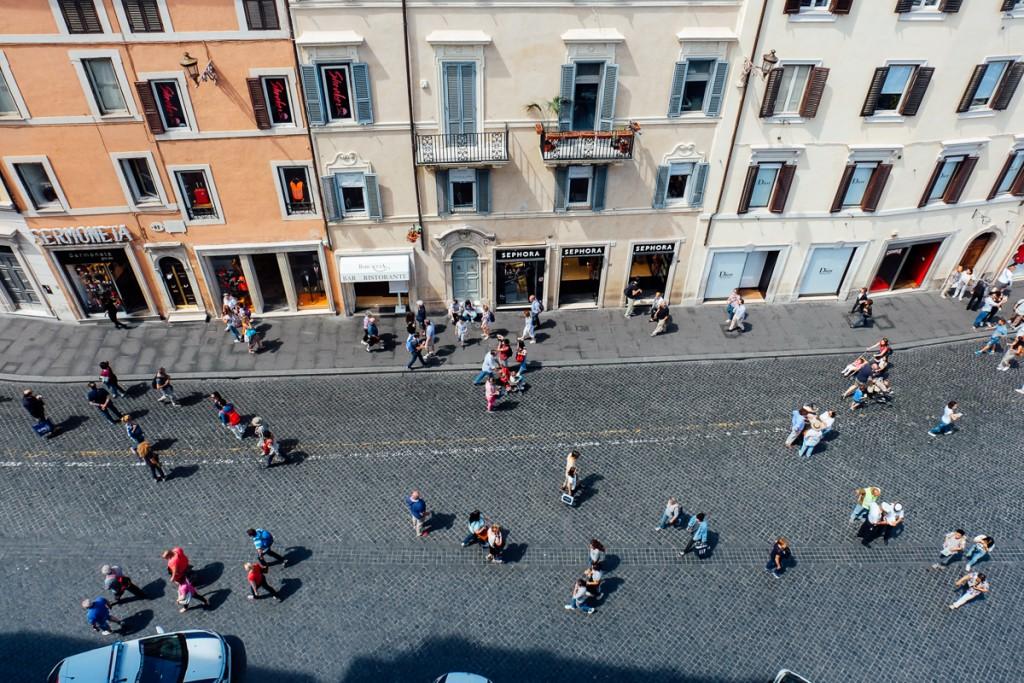De Chirico home view