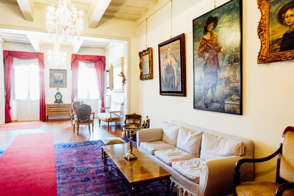 De Chirico home in Rome