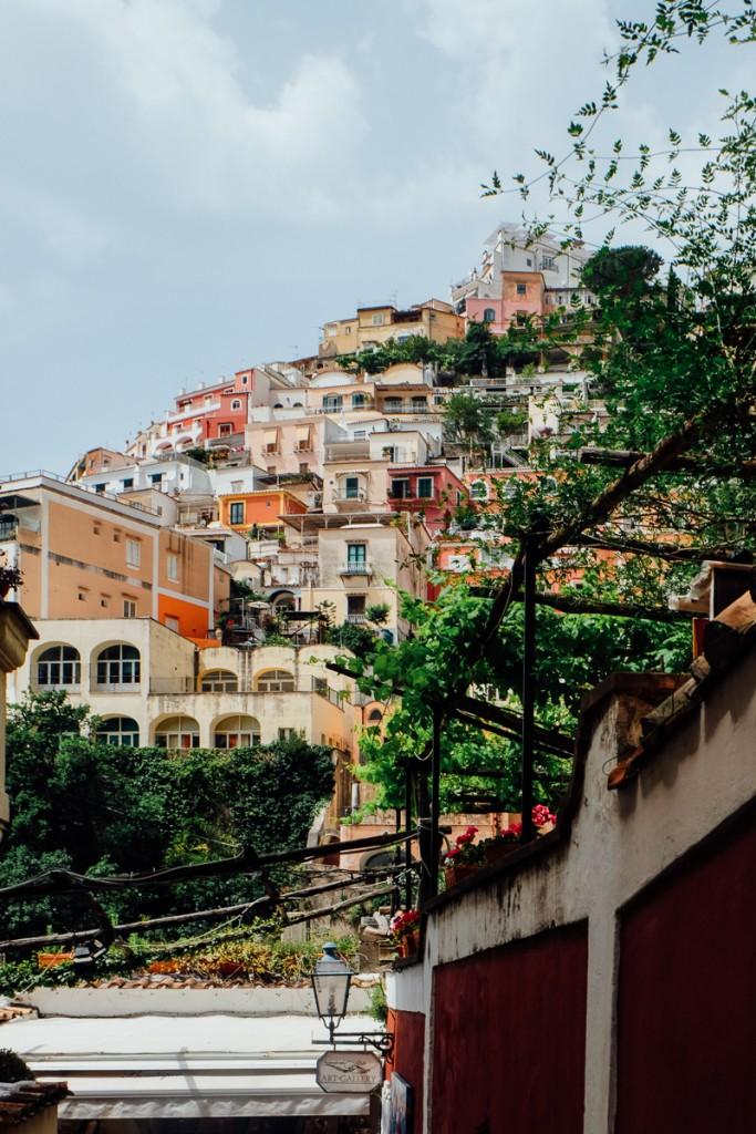 Hills of Positano Italy