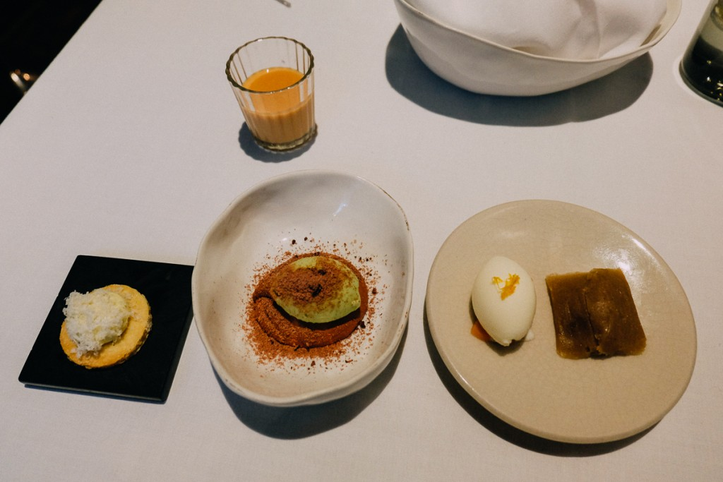 Pujol desserts