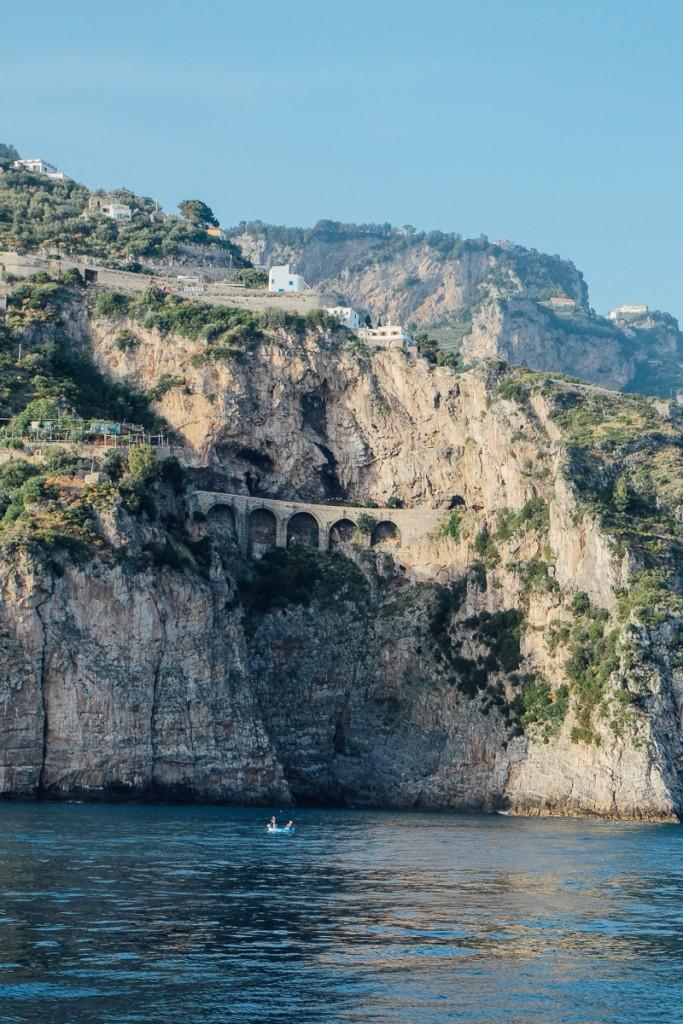 Salerno to Amalfi road