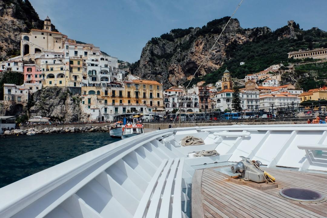 Salerno to Amalfi Ferry