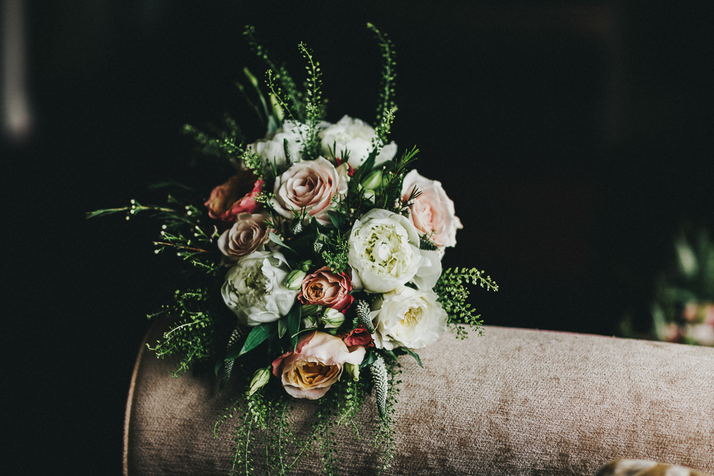 Irish wedding bouquet