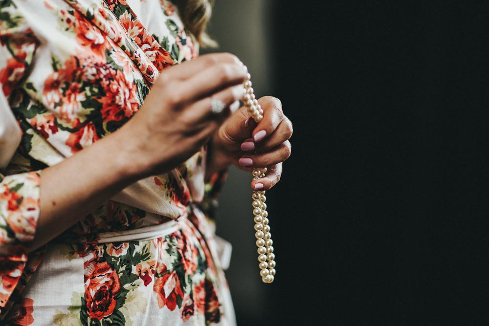 wedding pearls