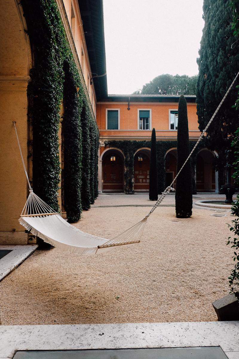 Hammock in an Italian villa