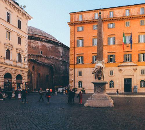 Bernini Elephant by Pantheon
