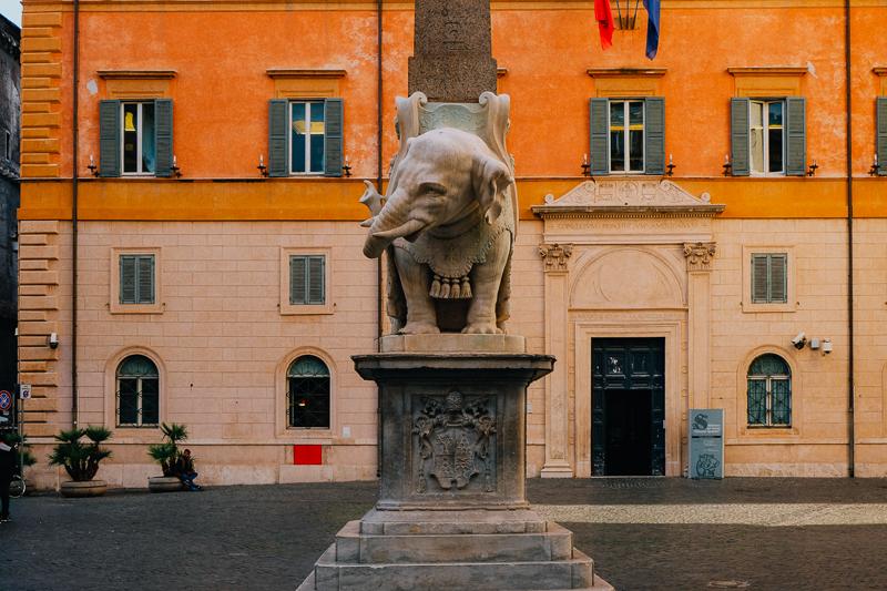 Bernini Elephant in Rome