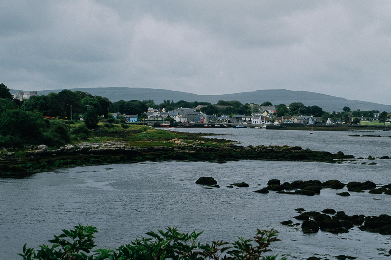 Galway bay in Ireland