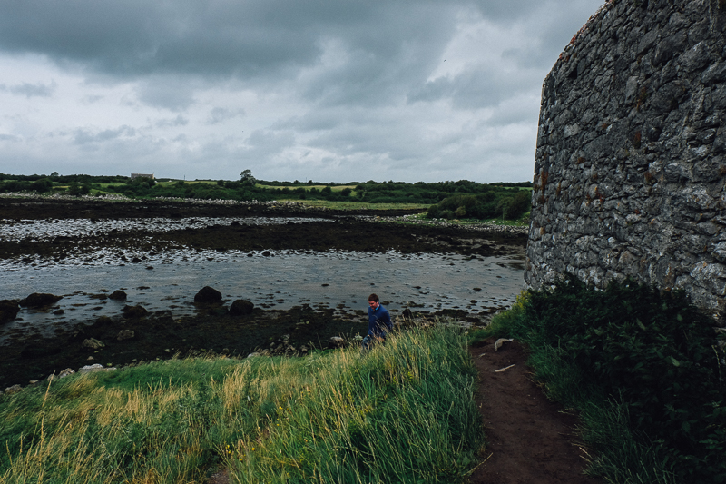 Jimmy at Dunguaire Castle