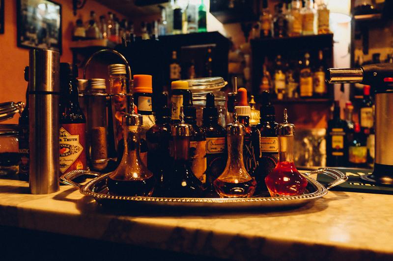 cocktails in Trastevere