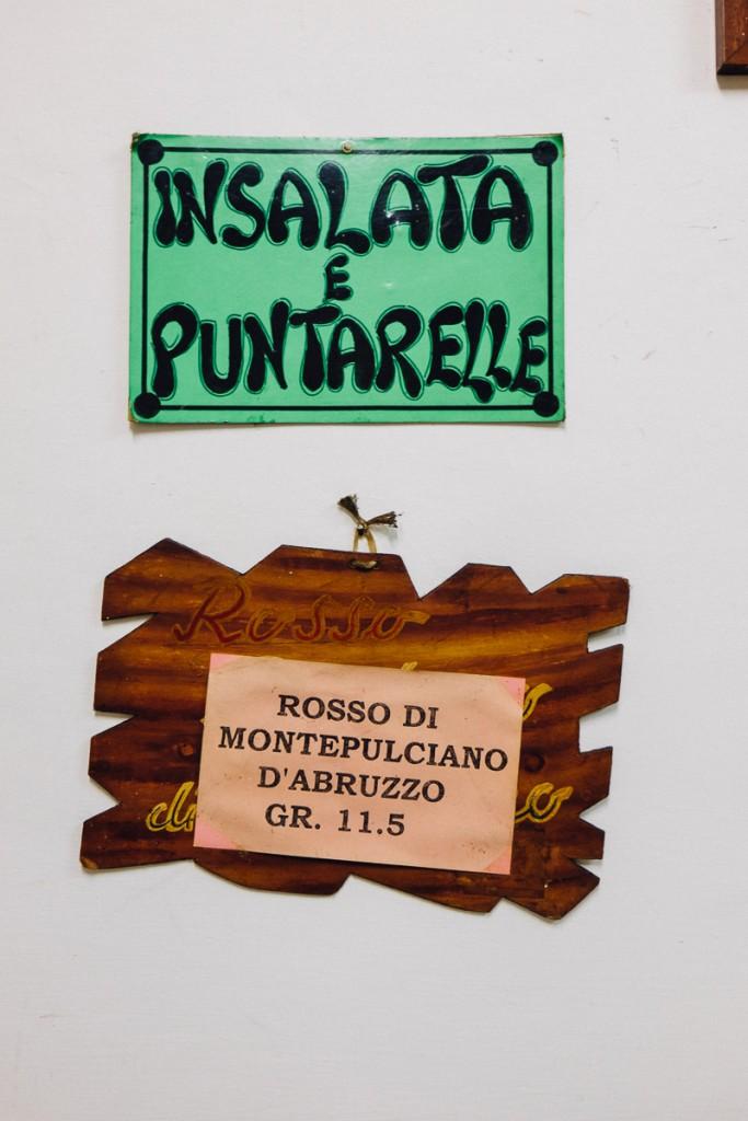 puntarelle salad rome
