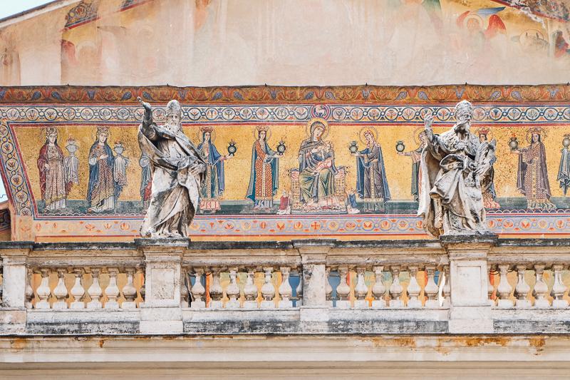 Rome church exterior