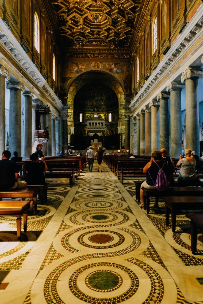 Trastevere church