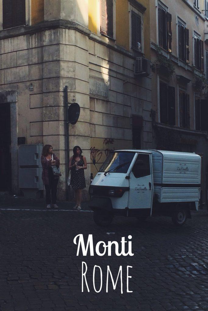 Rome's Monti neighborhood