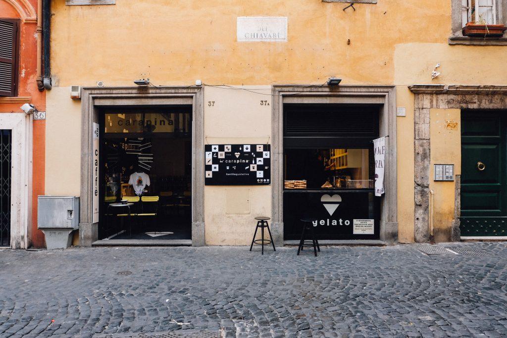 Carapina Gelato Rome