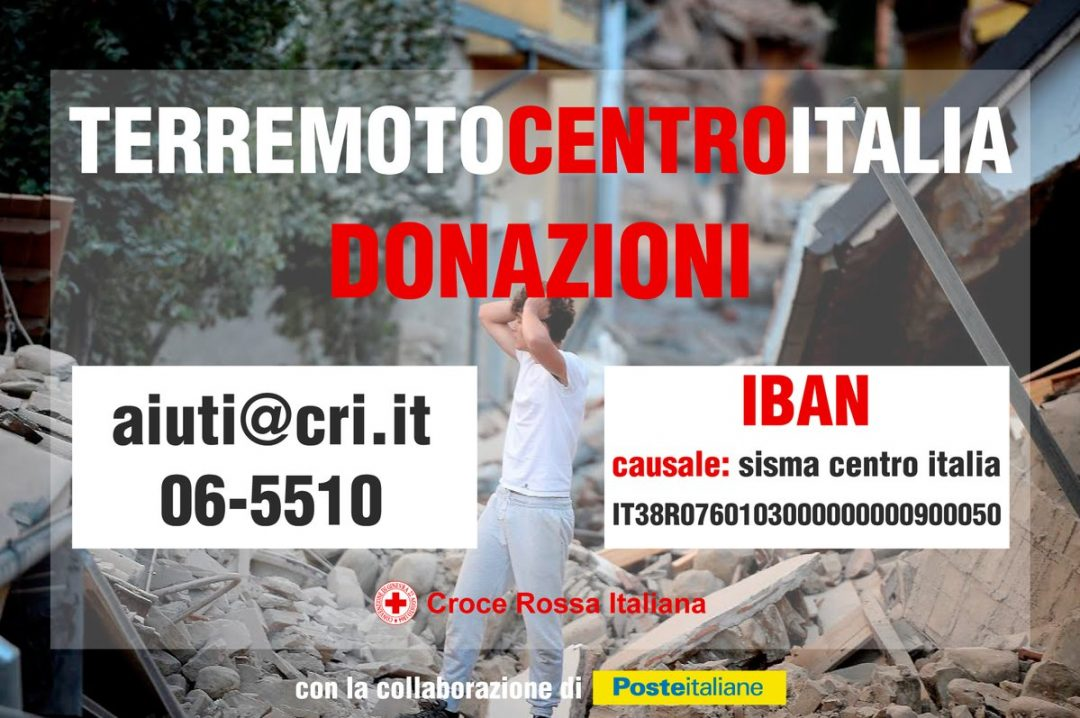 Italy Red Cross Donate