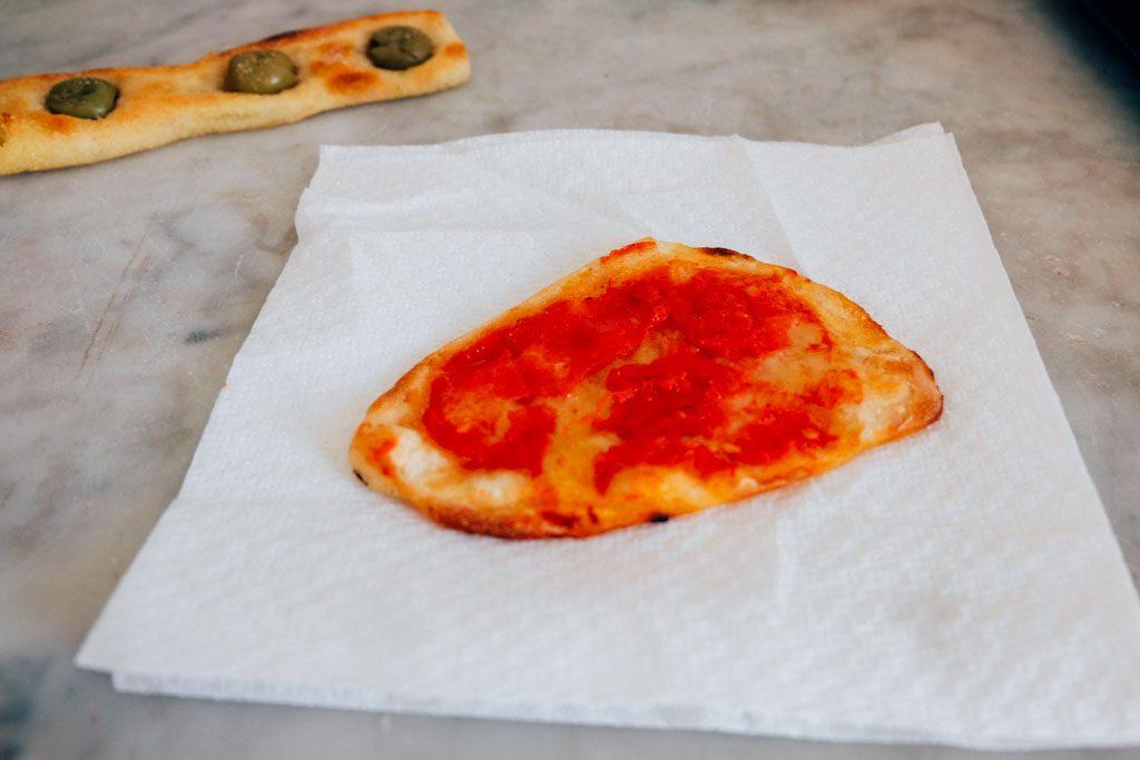 Pizza testaccio market